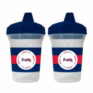 Atlanta Braves Sippy Cup - 2 Pack