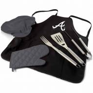Atlanta Braves BBQ Apron Tote Set