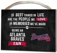 Atlanta Braves Best Things Small Plaque