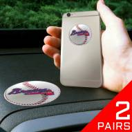 Atlanta Braves Cell Phone Grips - 2 Pack