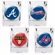 Atlanta Braves Collector's Shot Glass Set
