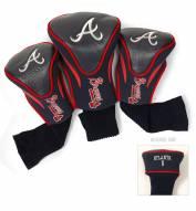 Atlanta Braves Golf Headcovers - 3 Pack