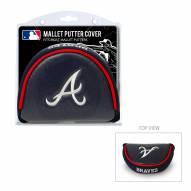 Atlanta Braves Golf Mallet Putter Cover
