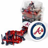 Atlanta Braves 175 Golf Tee Jar