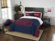 Atlanta Braves Grand Slam Full/Queen Comforter Set