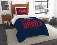 Atlanta Braves Grand Slam Twin Comforter Set