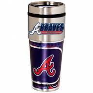 Atlanta Braves Hi-Def Travel Tumbler