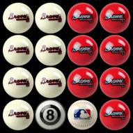 Atlanta Braves MLB Home vs. Away Pool Ball Set