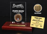 Atlanta Braves Infield Dirt Etched Acrylic