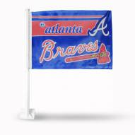 Atlanta Braves MLB Car Flag