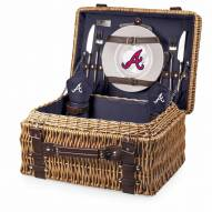 Atlanta Braves Navy Champion Picnic Basket