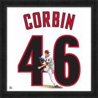 Arizona Diamondbacks Patrick Corbin Uniframe Framed Jersey Photo