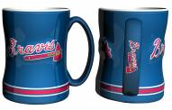 Atlanta Braves Sculpted Relief Coffee Mug