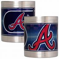 Atlanta Braves Stainless Steel Hi-Def Coozie Set