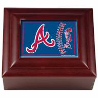 Atlanta Braves Wood Keepsake Box