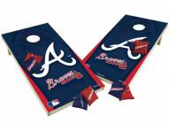 Atlanta Braves XL Shields Cornhole Game