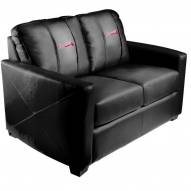 Atlanta Braves XZipit Silver Loveseat
