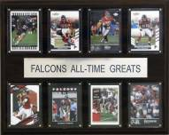 "Atlanta Falcons 12"" x 15"" All-Time Greats Plaque"