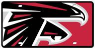 Atlanta Falcons Acrylic Mega License Plate