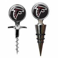 Atlanta Falcons Cork Screw & Wine Bottle Topper Set