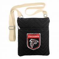 Atlanta Falcons Crest Chevron Crossbody Bag