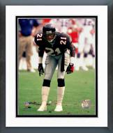 Atlanta Falcons Dieon Sanders Framed Photo