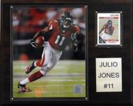 "Atlanta Falcons Julio Jones 12 x 15"" Player Plaque"