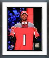 Atlanta Falcons Julio Jones 2011 NFL Draft #6 Pick Framed Photo