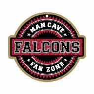 Atlanta Falcons Man Cave Fan Zone Wood Sign