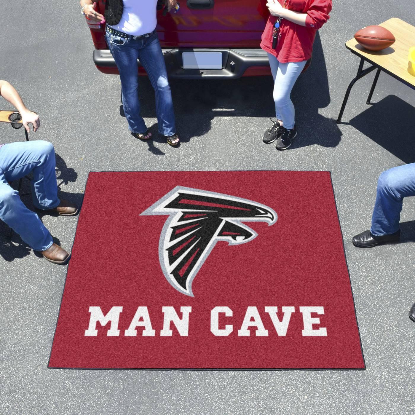 Man Cave Store Atlanta : Atlanta falcons man cave tailgate mat