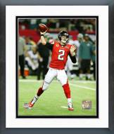 Atlanta Falcons Matt Ryan 2015 Action Framed Photo
