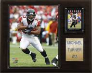 "Atlanta Falcons Michael Turner 12 x 15"" Player Plaque"