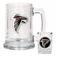 Atlanta Falcons NFL Boilermaker Set - Shot Glass & Tankard Mug