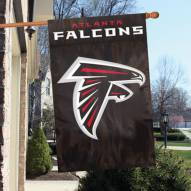 Atlanta Falcons NFL Embroidered / Applique 2 - Sided Flag