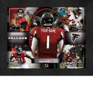 Atlanta Falcons Personalized Framed Action Collage