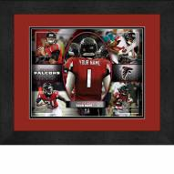 Atlanta Falcons Personalized 13 x 16 Framed Action Collage