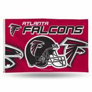 Atlanta Falcons 3' x 5' Banner Flag