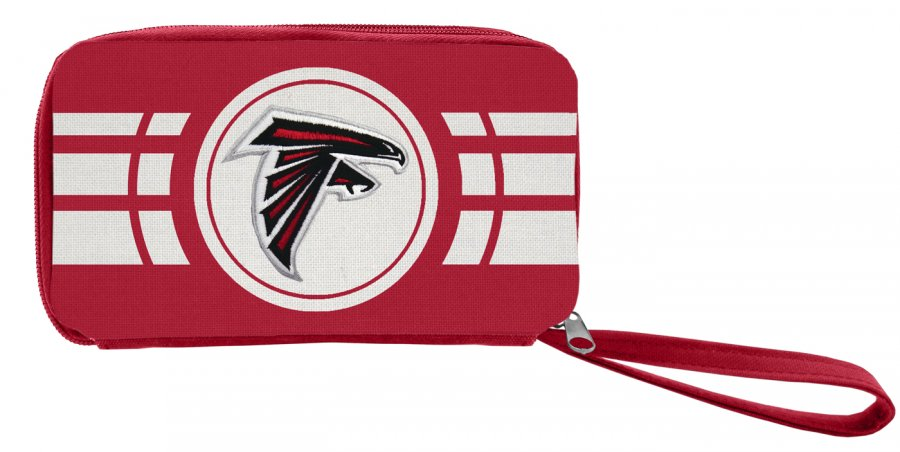 Atlanta Falcons Ripple Zip Wallet
