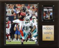 "Atlanta Falcons Roddy White 12 x 15"" Player Plaque"