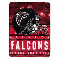 Atlanta Falcons Silk Touch Stacked Blanket