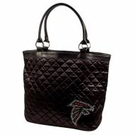 Atlanta Falcons Sport Noir Quilted Tote