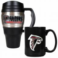 Atlanta Falcons Travel Mug & Coffee Mug Set