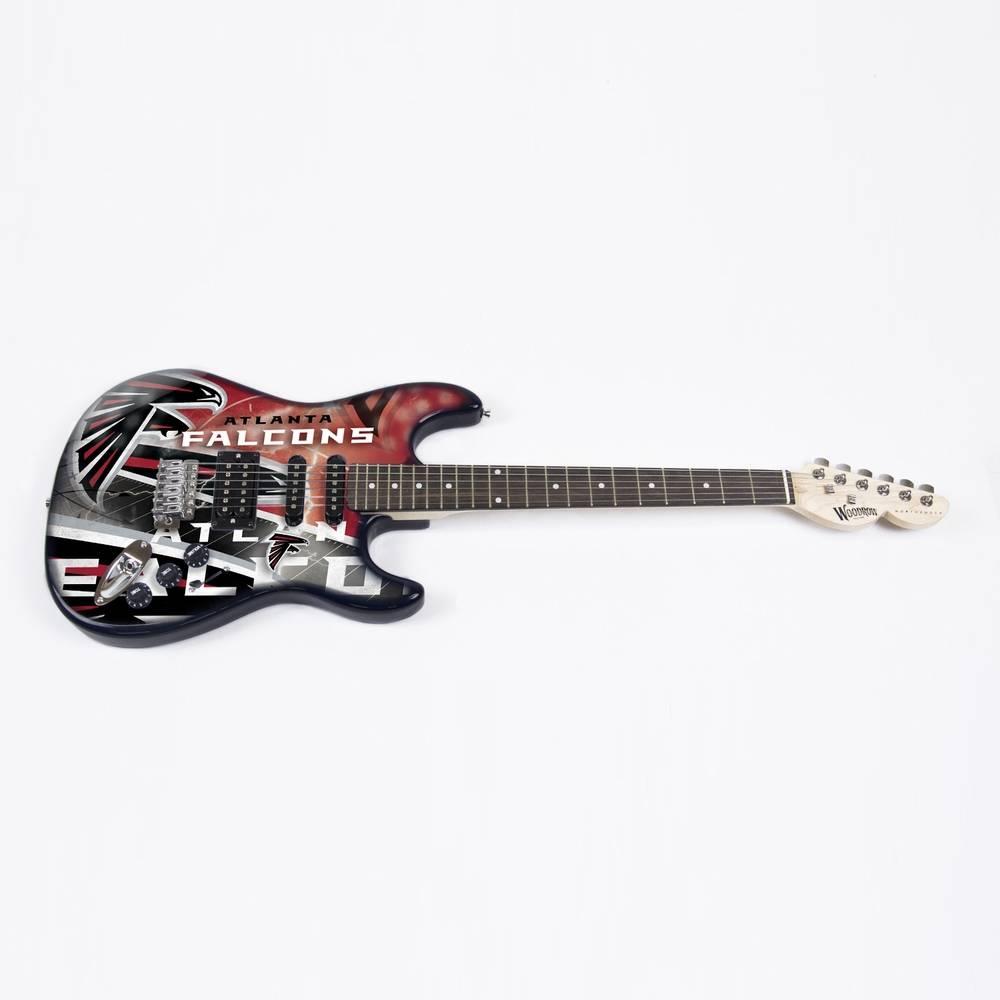 atlanta falcons woodrow northender electric guitar. Black Bedroom Furniture Sets. Home Design Ideas