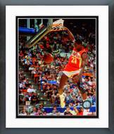 Atlanta Hawks Dominique Wilkins 1986 NBA Slam Dunk Contest Action Framed Photo