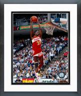 Atlanta Hawks Dominique Wilkins 1990 NBA Slam Dunk Contest Action Framed Photo