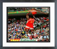 Atlanta Hawks Dominique Wilkins 1990 Slam Dunk Contest Action Framed Photo