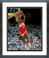 Atlanta Hawks Dominique Wilkins Dunking Action Framed Photo