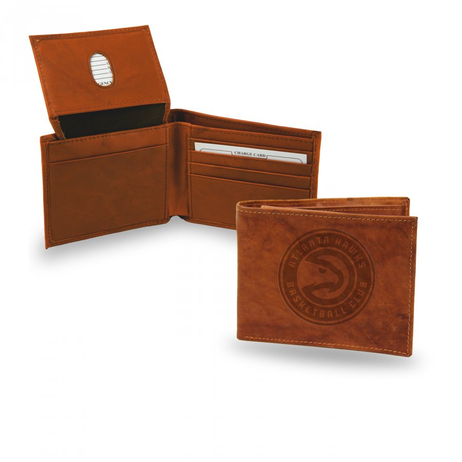 Atlanta Hawks Embossed Bi-Fold Wallet
