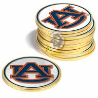 Auburn Tigers 12-Pack Golf Ball Markers