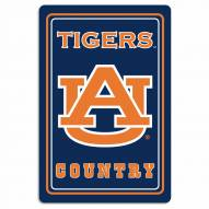 "Auburn Tigers 12"" x 18"" Metal Sign"